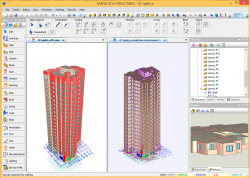 Building model in SAPFIR software package